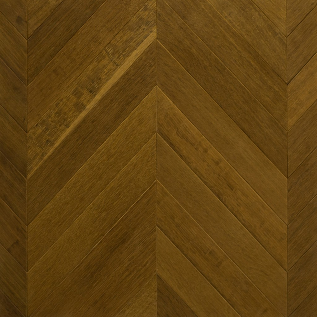 Castle Collection: FUMED OAK Chevron design (rift & quartered, wire brush)